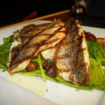 Grilled Bronzino at Anemos Greek Cuisine Manalapan, NJ