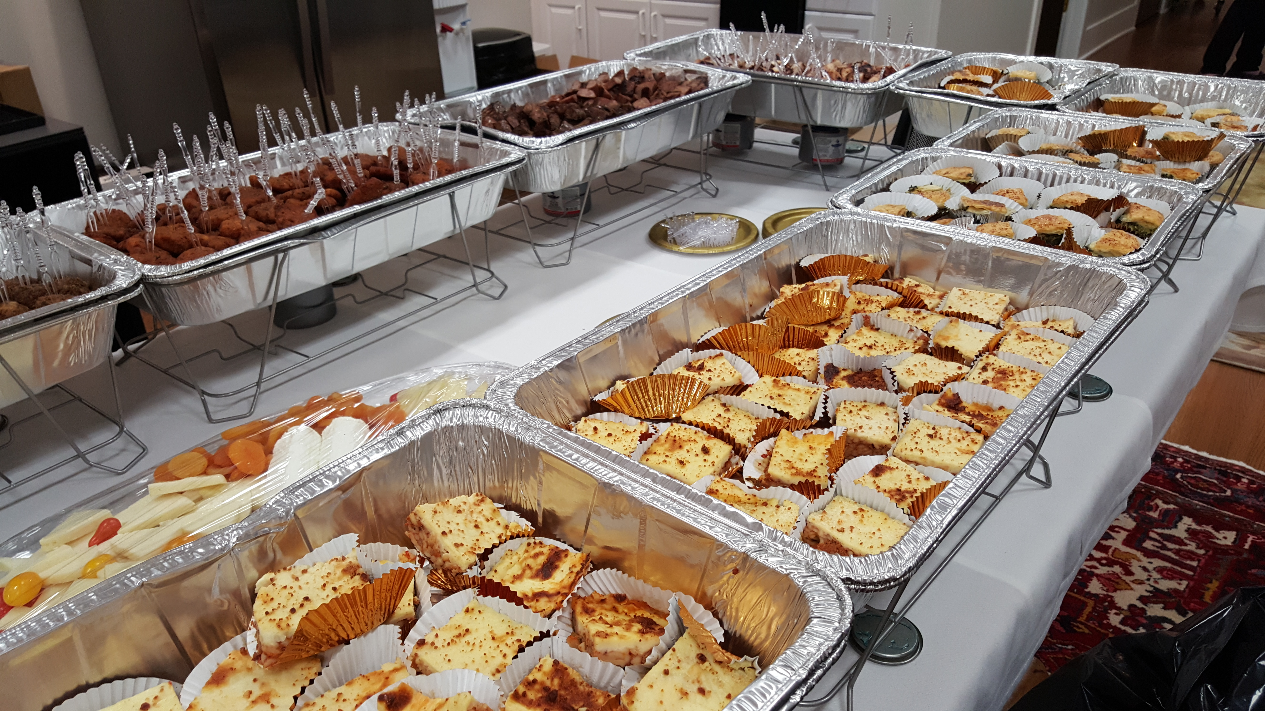 Catering by Anemos Greek Cuisine. Manalapan NJ.